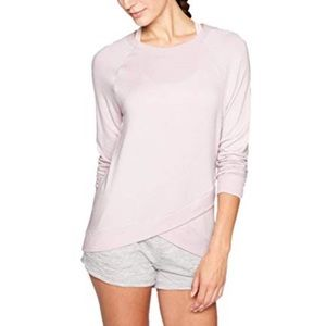 Athleta Criss Cross Long Sleeve Sweatshirt